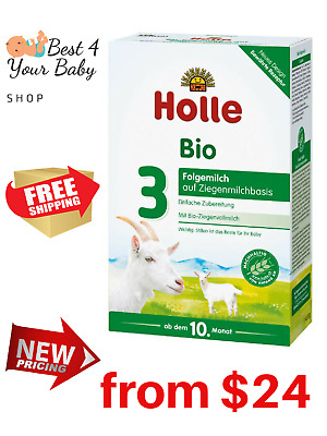 HOLLE Goat Stage 3 Baby Formula Bio Milk 100% Organic 400g Exp 05/20 BEST PRICE