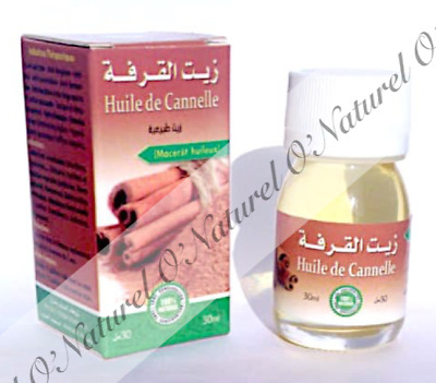 Huile de Cannelle BIO 100% Pure & Naturelle 30ml Cinnamon Oil, Aceite de Canela