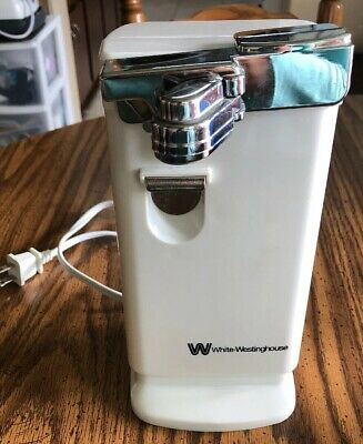 White-Westinghouse Countertop Can Opener Model WCO9501