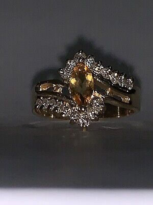 CM-RM1188X-07 14k Yellow Gold Marquise Ruby Filigree Ring