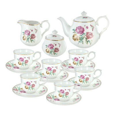 Summertime Breeze Porcelain Tea Set