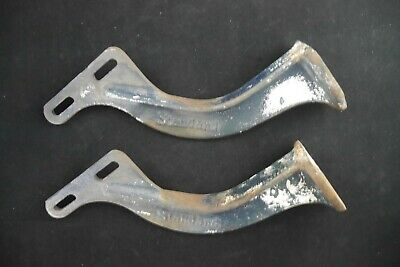 Antique Vintage American Standard Cast Iron Wall Sink Hanger Mounting Brackets