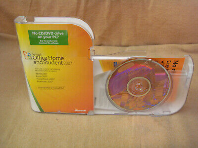 Microsoft Office Home & Student 2007 Retail with 1 Ram Module