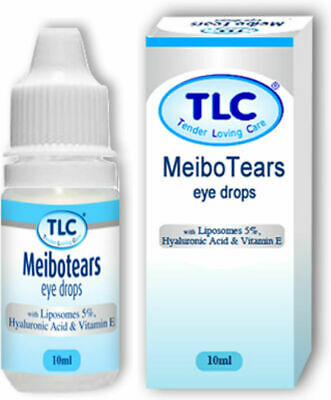 10ml Meibo Tears premium dry eye drop Vitamin A replaces TheraTears Drops
