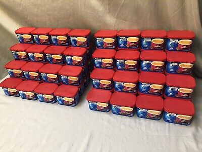 80 Maxwell House Empty Coffee Plastic Cans Containers Lids Craft Storage Garage