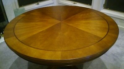 """Solid Wood Table 48"""" Rround Perimeter Dinning Table"""