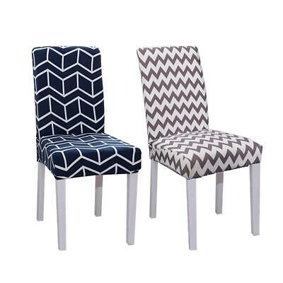 Stretch Dining Chair Cover Seat Removable Slipcover Case Washable Banquet Event