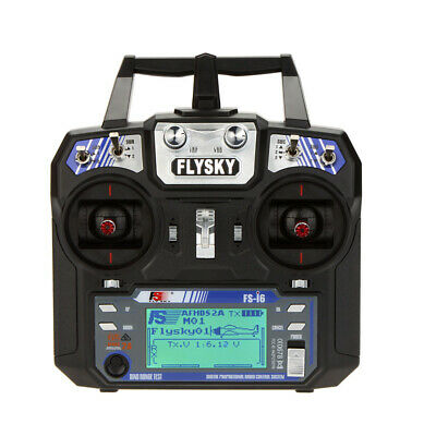 Flysky FS-I6 AFHDS 2A 2.4Ghz 6CH Trasmettitore Ricevitore Per Elicottero RC K8G9