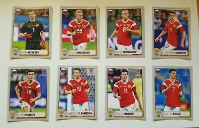 Panini WM 2018 MCDonalds Russland Sticker M1 - M8 World Cup WC 18 Russia Edition