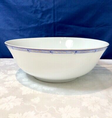 Remy Delinieres Limoges Porcelain Tulipes Saladier / Salad bowl NEW IN BOX