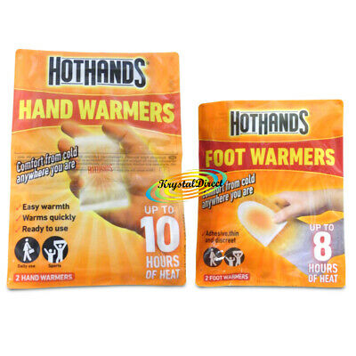 Hothands Hot Hands Hand Warmer & Foot Warmers Sports/Golf/Outdoor Pocket Heat