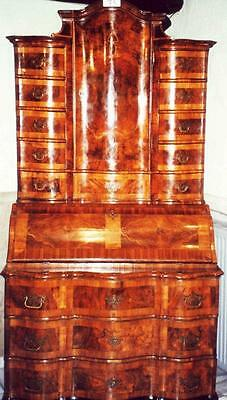 Baroque Tabernacle Secretary Wardrobe Tabernacle Secretary Desk Cabinet