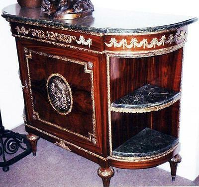 Chest Cabinet Dresser Marble Commode Baroque Rococo Empire 18 19 Antique Antique