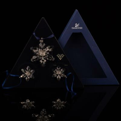Swarovski Annual Edition 2008 Christmas Xmas Ornaments SET 946487