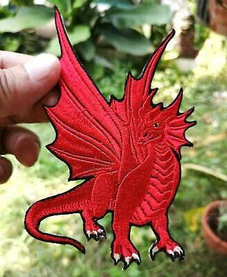 House Targaryen Dragon Game of Thrones Badge Embroidered Iron-On Sew-On patches