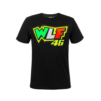 New - Official VR46 2018 Men's Casuals Valentino Rossi 46 WLF Tee T-Shirt