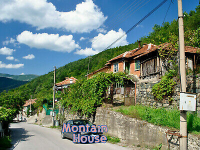 Detached house and land in a mountain 1hAirport Sofia Bulgara Bulgarian property