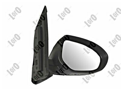 Side Mirror Convex Heated Primed RIGHT Fits NISSAN March Micra 2010