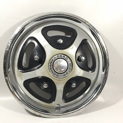 Vintage Single Ford Motor Company Hubcap Wheel Cover