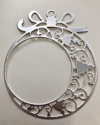 FREE POSTAGE OFFER - SPECIAL LISTING - 3 X Bauble #2 In Foil Cardstock Die Cuts