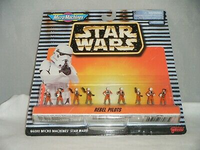 Star Wars Micro Machines REBEL PILOTS Galoob 1996