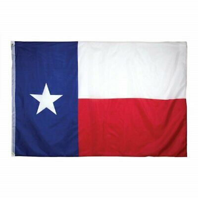 Texas State Lone Star Polyester Outdoor Flag Banner W/ Grommets