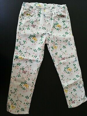 H&M Girls Floral Capri Pants Size 8 -9 Years EUR 134 Pre-owned