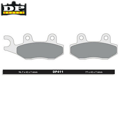 DP Sintered Off-Road/ATV Front Brake Pads DP411 Husqvarna TC 610 1993-1994