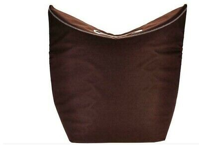 QVC Pursfection Multi-Purpose Extra Large Collapsible Tote Bag Mocha Color