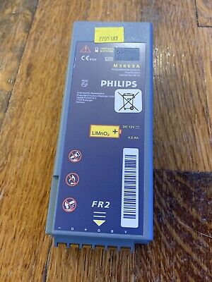 PHILIPS FR2 DEFIB BATTERY M3863A LITHIUM LIPO LI-ON (out Of Recommended Date)