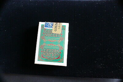 Golden Nugget Hotel and Casino Playing Cards Green  Sealed