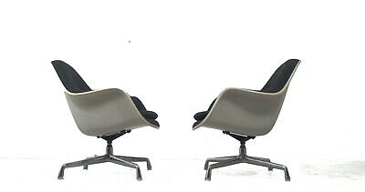 Vitra Herman Miller EC178 Loose Cushion Chair design Charles Ray Eames 1 (of 2)