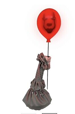 Pre-Order ANIMATED PENNYWISE BALLOON ARM Halloween Prop IT CHAPTER 2