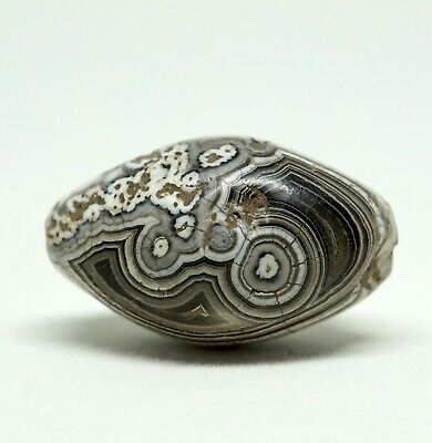 Ancient Solomon Agate Bead, Second Millennium BCE