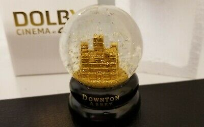 Downton Abbey MOVIE FAN EXCLUSIVE Snow Globe AMC Dolby CINEMA FAN MUST HAVE!!!