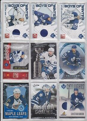 100 Toronto Maple Leafs Lot RCs Autos Patches Jerseys Nazem Kadri Darryl Sittler