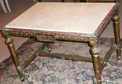 Baroque Louis Sofa Couch Marble Table Antique 17 18 19