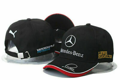 2019 Mercedes AMG F1 Lewis Hamilton Baseball Cap Adults  Hat T1 New