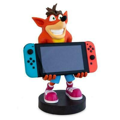 Crash Bandicoot XL Cable Guy Collectible Switch Vita Phone Control Holder Figure