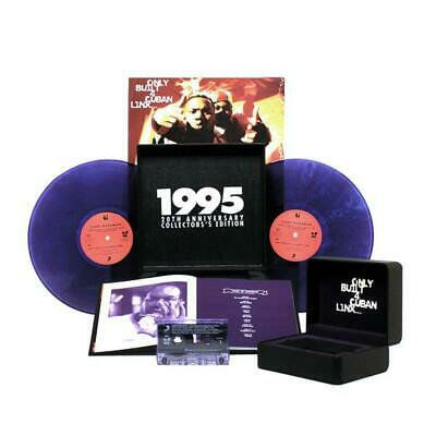 Raekwon Only Built 4 Cuban Linx 20th Anniversary Purple Tape Watch Box Tape 2xLP