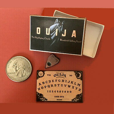 "1:6 scale Handmade miniature toy for 11""-12"" fashion dolls – Ouija board game"