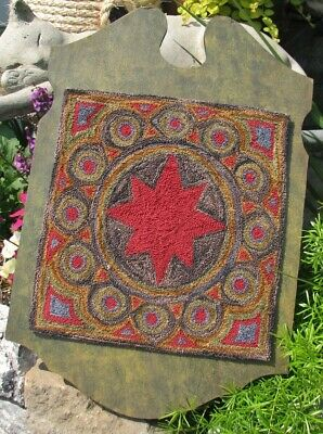 Primitive Punch Needle Pattern ~ Baxter's Star