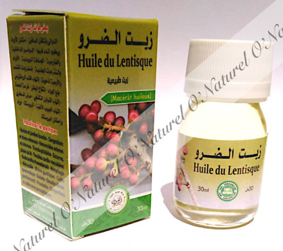 Huile de Lentisque BIO 100% Pure Naturelle 30ml Lentisk Oil, Aceite de Lentisco