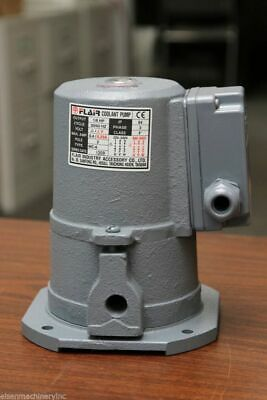 """1/8 HP Cast Iron Suction-type Coolant Pump, 220V/440V, 3PH, 3/8"""" outlet, FLAIR"""
