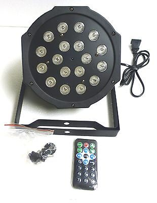 "Artic 1""Wx18""LED Flat Par Light with Remote & Single bracket.(For Indoor Use)"