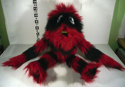 """Large 20"""" Puppet Company Black & Red Monster Hand Puppet Toy"""