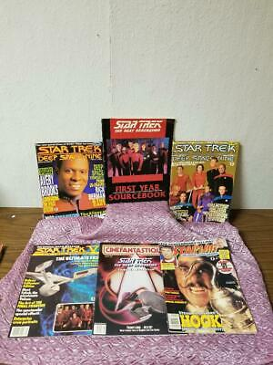 Misc. Star Trek Magazines LOT of 6!