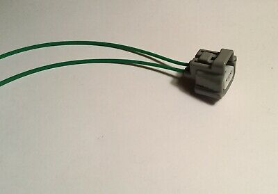 2-Wire Gray Connector with Tefzel Wire Pigtails for Toyota Parking Light Plug