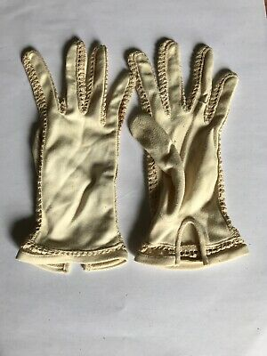 Vintage Evening Gloves Dents Size 7