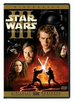 Star Wars: Episode III - Revenge of the Sith (Widescreen DVD) BRAND NEW